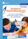 Portfolio im Mathematikunterricht 1.-4. Klasse, m. CD-ROM
