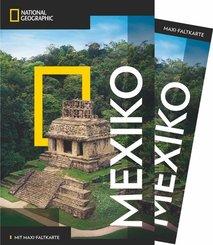 NATIONAL GEOGRAPHIC Reiseführer Mexiko mit Maxi-Faltkarte