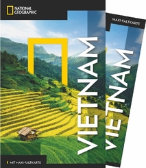 NATIONAL GEOGRAPHIC Reiseführer Vietnam mit Maxi-Faltkarte