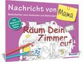 Das Malbuch für Erwachsene - Nachricht von Mama!