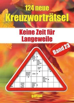 124 neue Kreuzworträtsel - Bd.23