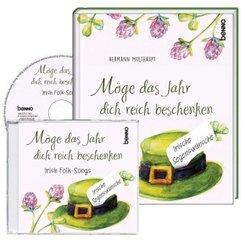 Geschenkbuch »Möge das Jahr dich reich beschenken« mit CD, m. 1 Audio-CD; .