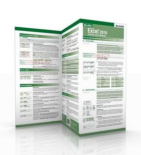 Excel 2016 - Formeln und Funktionen, 1 Falttafel