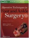 Operative Techniques in Foot and Ankle Surgery, 2 Vols.