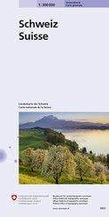 Generalkarte Schweiz; Suisse