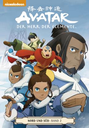 Avatar, Der Herr der Elemente - Nord und Süd - Bd.2