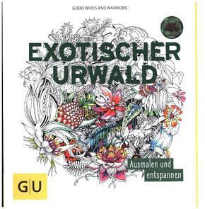 Exotischer Urwald - Malbuch für Erwachsene