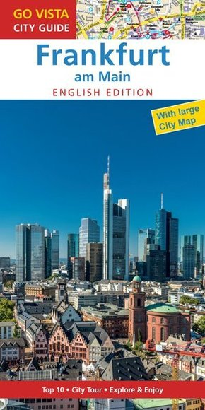 Go Vista City Guide Frankfurt am Main, English edition