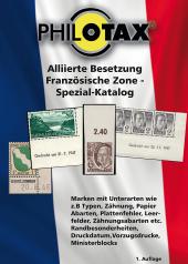 Alliierte Besetzung Französische Zone Spezial-Katalog
