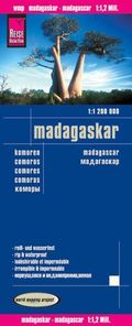 Reise Know-How Landkarte Madagaskar (1:1.200.000); Madagascar