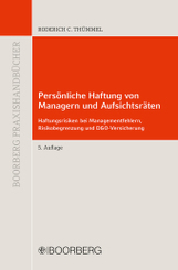 Persönliche Haftung von Managern und Aufsichtsräten