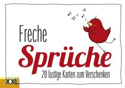 Freche Sprüche - Geschenkkartenbuch