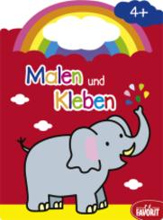 Malen und Kleben - Elefant