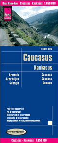 Reise Know-How Landkarte Kaukasus / Caucasus