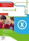 Green Line, Bundesausgabe ab 2014: Workbook Extra - Für Einsteiger in Klasse 7, m. 3 Audio-CDs und Übungssoftware; Bd.3