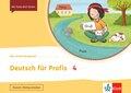 Mein Indianerheft: Deutsch für Profis 4