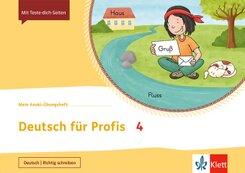 Mein Indianerheft: Mein Anoki-Übungsheft - Deutsch für Profis 4