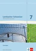 Lambacher-Schweizer, Ausgabe Baden-Württemberg ab 2014: 7. Schuljahr, Lösungen