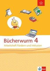Bücherwurm Sprachbuch 4. Ausgabe Berlin, Brandenburg, Mecklenburg-Vorpommern, Sachsen, Sachsen-Anhalt, Thüringen