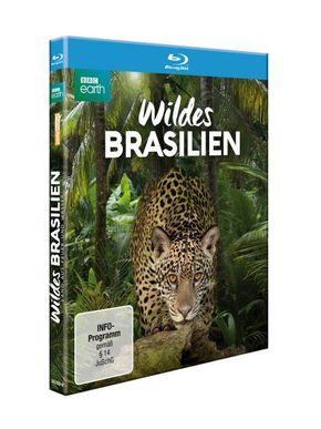 Wildes Brasilien - Land aus Feuer und Wasser, 1 Blu-ray