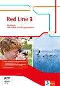 Red Line. Ausgabe ab 2014: 7. Klasse, Workbook mit Audio-CD und CD-ROM; Bd.3