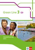 Green Line G9, Ausgabe ab 2015: 7. Klasse, Vokabeltraining aktiv, Arbeitsheft; Bd.3