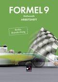 Formel, Ausgabe Berlin/Brandenburg: 9. Schuljahr, Arbeitsheft