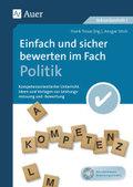 Einfach und sicher bewerten im Fach Politik, m. CD-ROM
