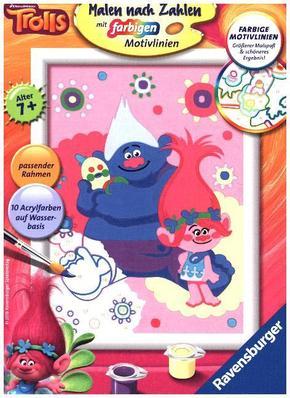 Malen nach Zahlen - Jeder kann malen (Mal-Sets), Bildgröße: 13 x 18 cm; Poppy und Biggie
