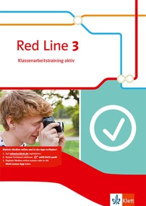 Red Line. Ausgabe ab 2014: Red Line 3, m. 1 CD-ROM