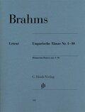 Ungarische Tänze Nr. 1-10, für Klavier