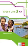 Green Line G9, Ausgabe ab 2015: 7. Klasse, Vokabellernheft; Bd.3