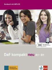DaF kompakt neu: Kursbuch A1-B1, m. MP3-CD