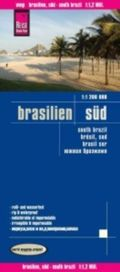 Reise Know-How Landkarte Brasilien, Süd (1:1.200.000); South Brazil / Brésil, Sud / Brasil Sur