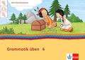 Mein Indianerheft: Grammatik üben, Arbeitsheft 4. Schuljahr