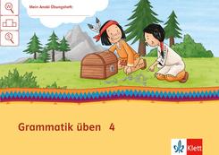 Mein Indianerheft: Mein Anoki-Übungsheft - Grammatik üben, Arbeitsheft 4. Schuljahr