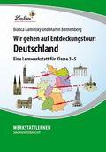 Wir gehen auf Entdeckungstour: Deutschland, 1 CD-ROM