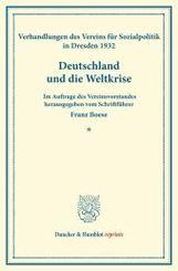 Deutschland und die Weltkrise.