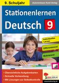 Stationenlernen Deutsch, 9. Schuljahr