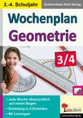 Wochenplan Geometrie, 3.-4. Schuljahr