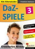 DaZ-Spiele in drei Niveaustufen - Bd.3