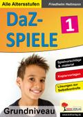 DaZ-Spiele in drei Niveaustufen - Bd.1