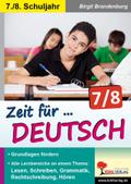 Zeit für Deutsch, 7./8. Schuljahr