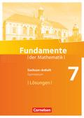 Fundamente der Mathematik, Gymnasium Sachsen-Anhalt: 7. Schuljahr, Lösungen