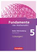 Fundamente der Mathematik, Gymnasium Baden-Württemberg: 5. Schuljahr, Lösungen zum Schülerbuch