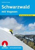 Rother Skitourenführer Schwarzwald mit Vogesen