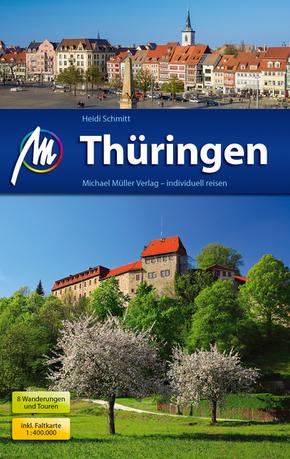 Thüringen Reiseführer, m. Karte