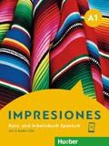 Impresiones A1 - Kurs- und Arbeitsbuch Spanisch mit 2 Audio-CDs