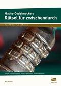 Mathe-Codeknacker: Rätsel für zwischendurch 7/8