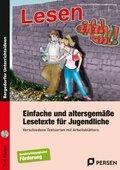 Einfache u. altersgemäße Lesetexte für Jugendliche, m. 1 CD-ROM